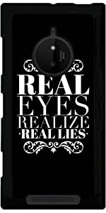 Funda para Nokia Lumia 830 - Ojos Reales Se Dan Cuenta De Las Mentiras Reales by wamdesign