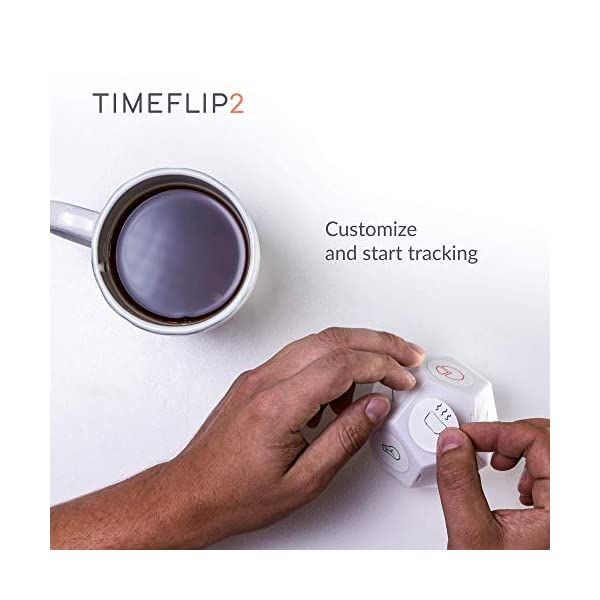 Timeflip2 Time Tracker Interactive Cube with Mobile App and Pomodoro Timer 2