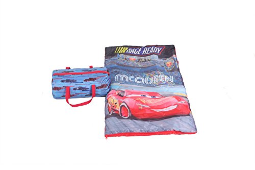 Disney Cars 3 Slumber Bag with Tote Sleeping Bag Duffle