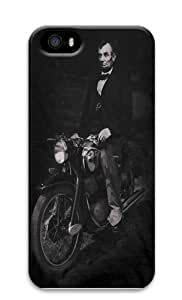 Biker Lincoln Custom iPhone 5s/5 Case Cover Polycarbonate 3D