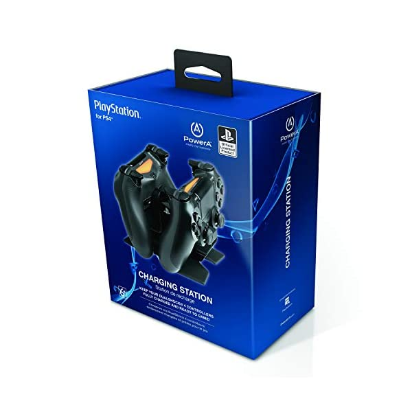 PowerA DualShock 4 Charging Station for PlayStation 4 2