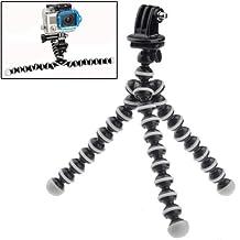 Fone-Stuff GoPro portable flexible mini octopus tripod adjustable adapter mount holder for Hero 4 / 3+ / 3 / 2 / 1 in black
