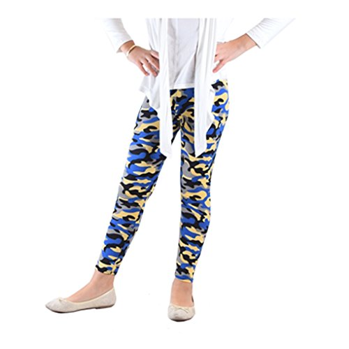 Dinamit Jeans Girl's Fun Printed LeggingsBlue Military - 575 Outlets