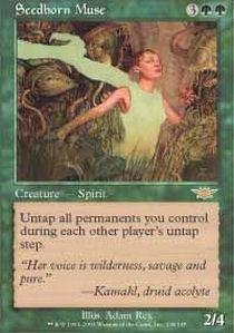 (Magic: the Gathering - Seedborn Muse - Legions - Foil)