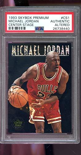 7877730ded301 Amazon.com: 1993-94 Skybox Premium The Center Stage #CS1 Michael ...