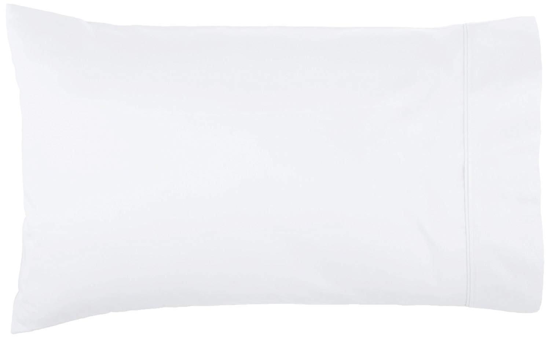 rahoo Pillowcase Luxury Egyptian Cotton 500 Thread Count 2-Piece Luxury Pillowcase Set - King 20X40 Size, White Solid