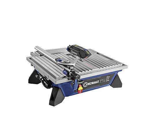 Kobalt 7-in Wet/Dry Tabletop Tile Saw (Kobalt 7 Inch Tile Saw With Stand)