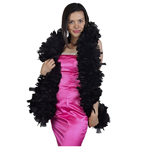 Zucker Feather Products Large Natural Turkey Feather boa 6-8