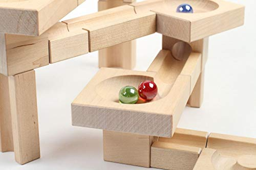 Varis Wooden Marble Run - Fix and Lock Twister Edition by Varis (Image #2)