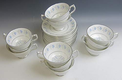 Lot of 11 Aynsley China DIANNE Cup & Saucer Sets EXCELLENT