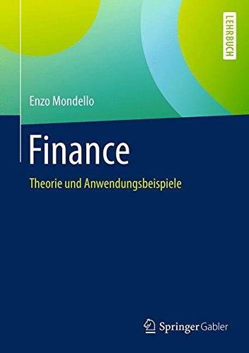 Finance: Theorie und Anwendungsbeispiele