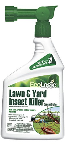 EcoLogic 511099 Hg-Lawn & Yd Insect Killer, Concentrate, Ready-to-Spray, 32 Oz