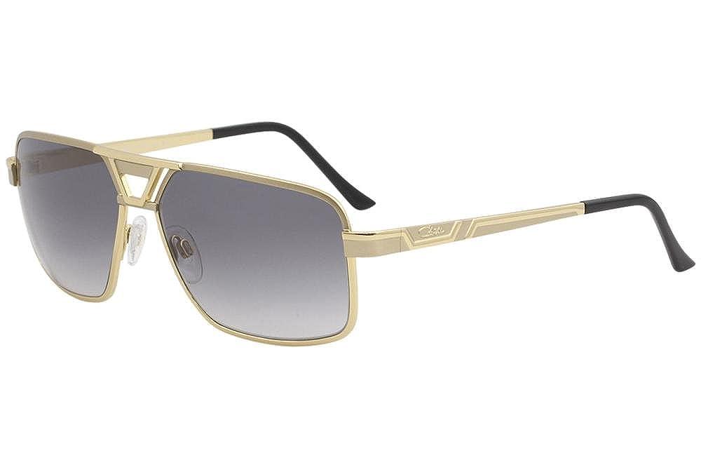 2050177569e Amazon.com  Cazal 9071 Sunglasses 003SG Gold   Grey Gradient Lens 61 mm   Clothing