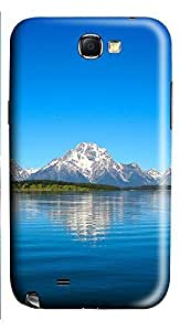 Samsung Note 2 Case Landscapes Grand Tetons 3D Custom Samsung Note 2 Case Cover