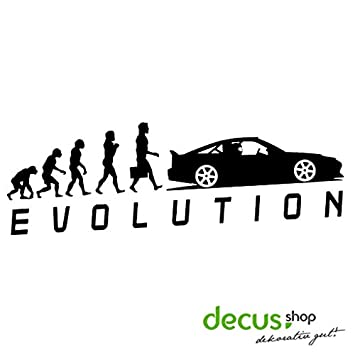 Evolution Drift Stickers Dub Oem Jdm Style Sticker Amazon Co Uk