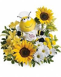 Harry's Famous Flowers-Bee Well - Fresh and Hand Delivered - Orlando - Bee Well Bouquet