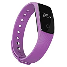 iMusi Wireless Bluetooth Smart Watches Fitness Tracker with Heart Rate Monitor