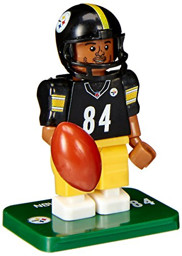 NFL Pittsburgh Steelers Gen4 Limited Edition Antonio Brown Mini Figure, Small, White