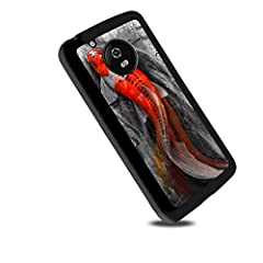 A fashion Lucky Koi design for your Moto G6 Plus. Designed with a smooth finish, this protective case also protects against from scratches, scrapes and dent of the back and side of your Moto G6 Plus. Color-coordinating complete for any colors...