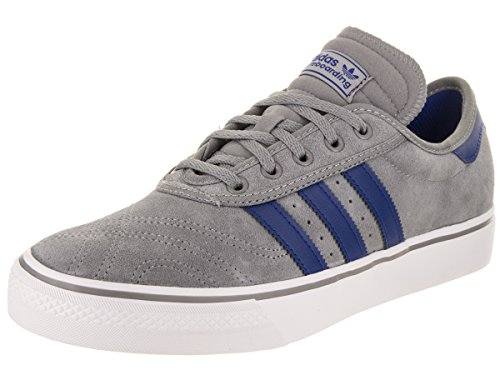 adidas Skateboarding Men's Adi-Ease Premiere Grey 3/Collegiate Royal/Footwear White 10 D US