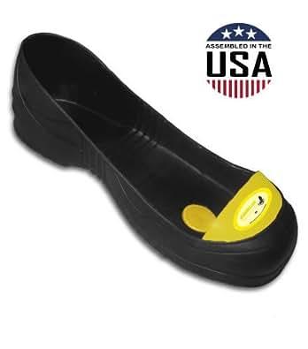Steel Toe Overshoes - Slip On Safety Toes - Medium (Yellow) (Medium, Yellow)
