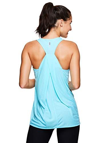RBX Active Women's Yoga Workout Tank Top Robin Blue S19 XL