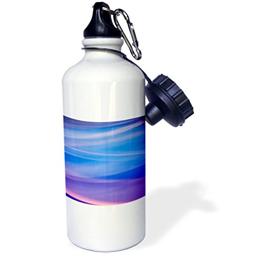 Missoula 1 Light - Danita Delimont - Abstract - Light painting abstract color trails - 21 oz Sports Water Bottle (wb_231124_1)