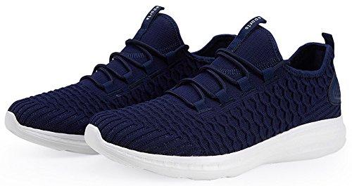 Sportschuhe Dunkelblau 4 44 Unisex Turnschuhe 36 EU Sneaker SEECEE Farben Ultraleicht TFq1xw5