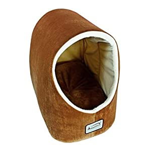 Aeromark International Armarkat Cave Shape Pet Cat Beds for Cats and Small Dogs-Waterproof and Skid-Free Base