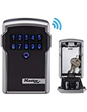 Master Lock 5441EURENT Professionele Bluetooth-Sleutelkluis [Wandbevestiging] [Bluetooth of Combinatiecode]