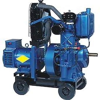 RUN+ Diesel Generator 7 5 KVA: Amazon in: Industrial