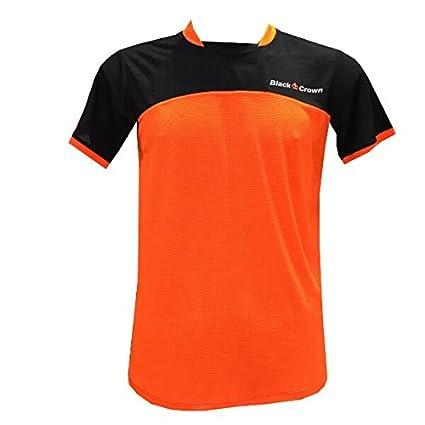 Camiseta Padel Black Crown Hombre Boom-Negro-XL: Amazon.es ...