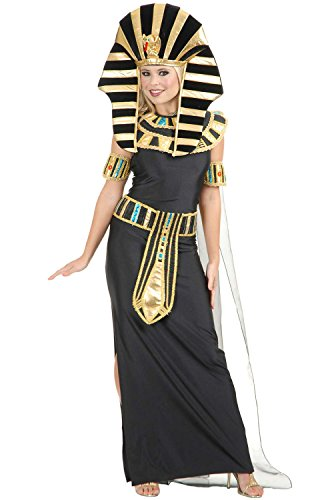 [Egyptian Nefertiti Costume - Medium - Dress Size 8-10] (Nefertiti Halloween Costumes)