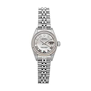 Best Epic Trends 41fxiRdCghL._SS300_ Rolex Datejust Automatic White, Mother-of-Pearl Dial Watch 79174 (Pre-Owned)