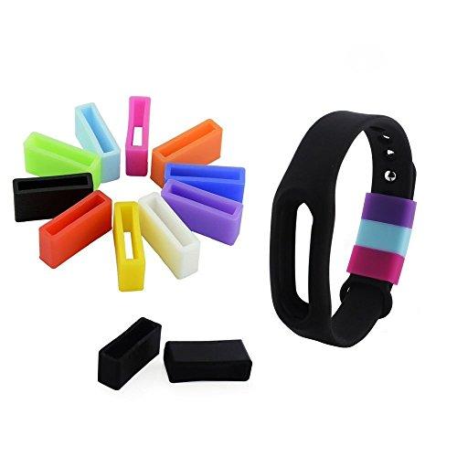 Vendeur Britannique. 10x attaches en silicone pour mi Xiaomi bande–Fixer le fermoir Fall Off Problème–maintenir l'Bracelet en style.