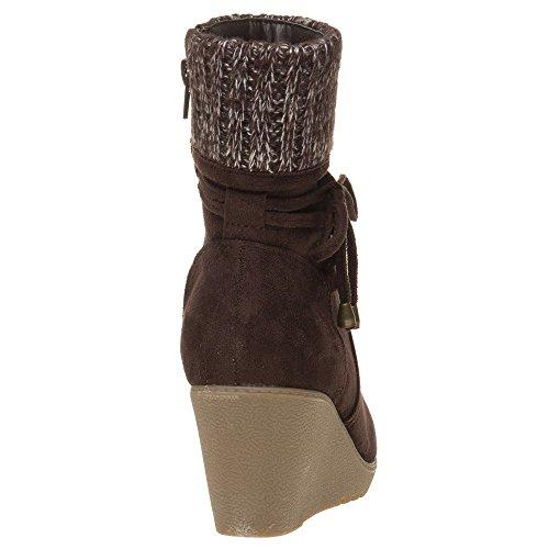 Pacing Solesister Boots Marron Solesister Femme Pacing Y6OzqnWZ6