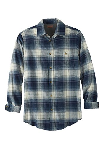 [해외]볼더 크릭 남성 빅 & amp; /Boulder Creek Men`s Big & Tall Flannel Shirt