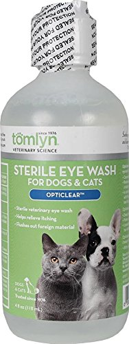 Tomlyn Sterile Eye Wash for Dogs and Cats,  (Opticlear) - The Eye Cat