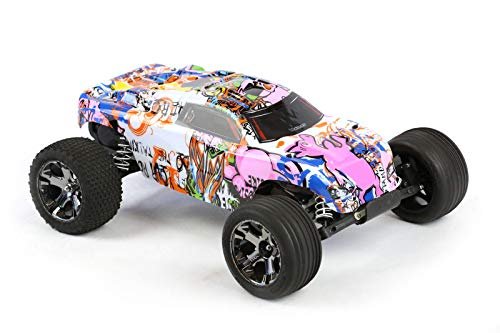 Compatible Custom Body Graffiti Pink Pig Style Replacement for 1/10 Scale RC Car or Truck (Truck not Included) R-PIG-01 ()