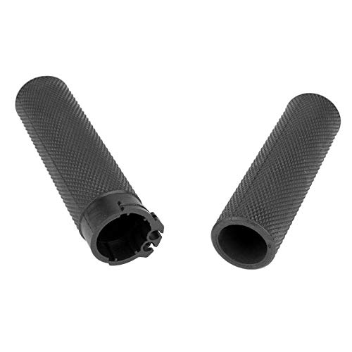SalaBox-Accessories 2Pec//Pair 1 Motorcycle Handlebar Grip Rubber Motorbike Hand Grips for Harley Sportster Softail Motor Handle bar Accessories