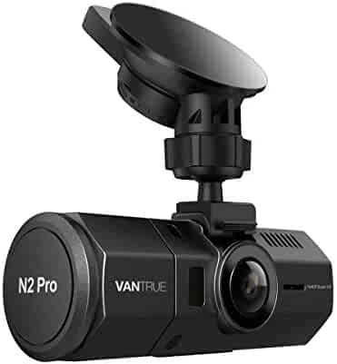 Vantrue N2 Pro Uber Dual Dash Cam Infrared Night Vision Dual 1920x1080P Front and Inside Dash Camera (2.5K 2560x1440P Single Front) 1.5