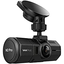 """Vantrue N2 Pro Uber Dual Dash Cam Infrared Night Vision Dual 1920x1080P Front and Cabin Dash Camera (2.5K 2560x1440P Single Front) 1.5"""" 310° Car Camera w/Sony Sensor, Parking Mode, Support 256GB max"""