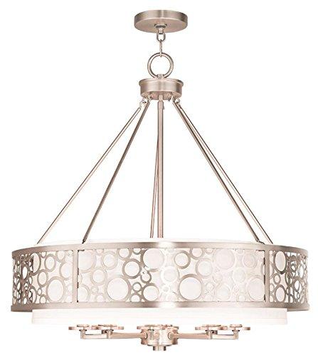Amazon.com: Chandeliers - Lámpara de techo (níquel cepillado ...