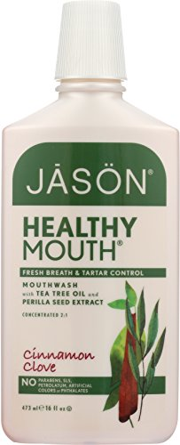 JASON Natural Healthy Mouth Naturally Bacteria-Fighting Mouthwash 16.0 oz - Jason Healthy