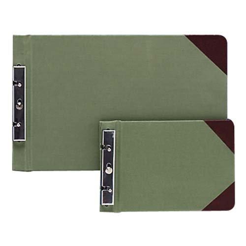 Wilson Jones 27831 Canvas Sectional Storage Post Binder, 3-Inch Cap, 8 1/2 x 14, Green ()