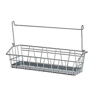 Stck Ikea Stahl Draht Korb Spice Rack Aufgehngt Oder Freistehend