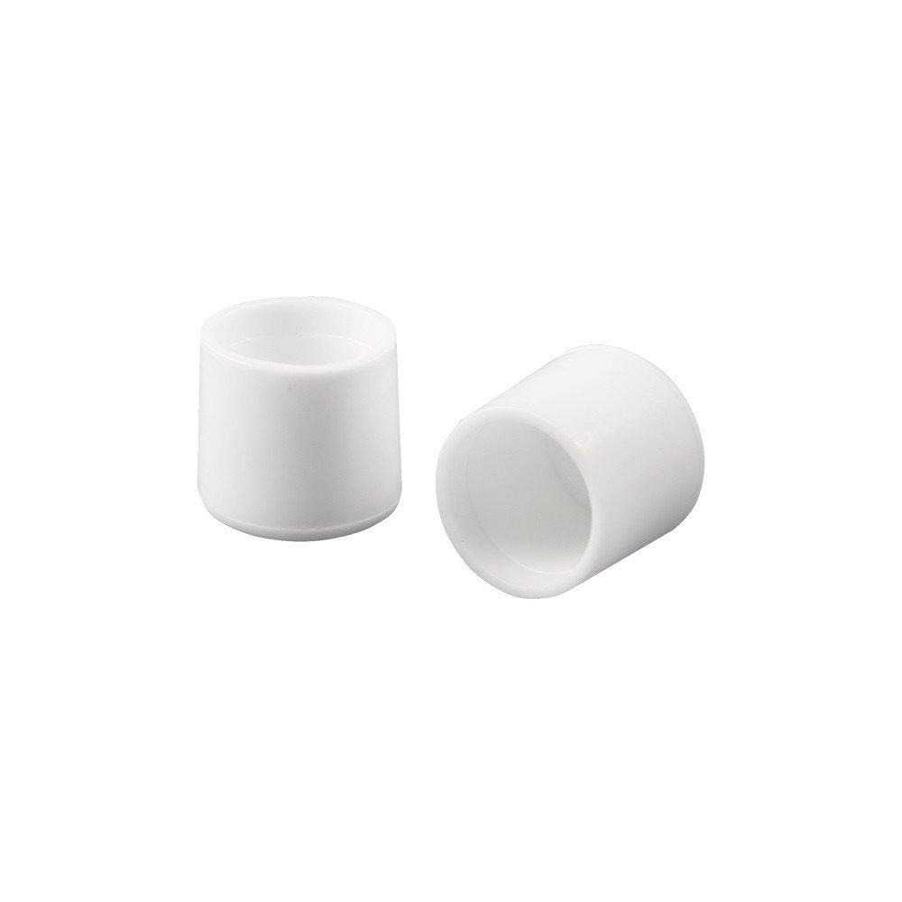 Waxman Consumer 22210262 CHAIR & TABLE TIPS WHITE 3/4''