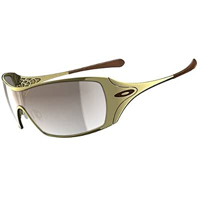 Oakley Dart Women's Lifestyle Fashion Sunglasses/Eyewear - Polished Gold/Brown Gradient / One Size Fits All