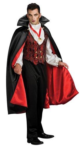 Rubie's Costume Transylvanian Vampire, Multicolored, One Size (Men Vampire Costumes)