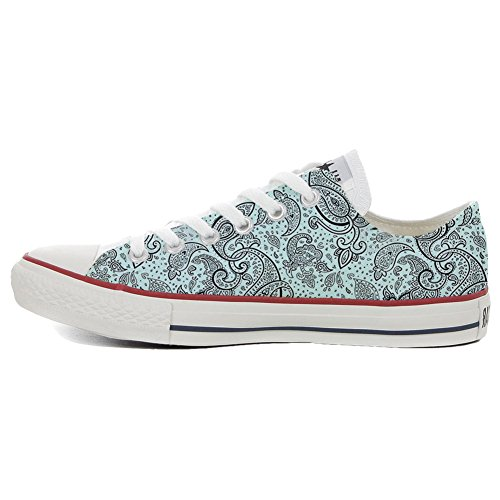 Converse All Star Customized - zapatos personalizados (Producto Artesano) Elegant Paisley